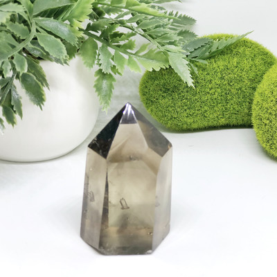 Smoky Quartz Crystal Point