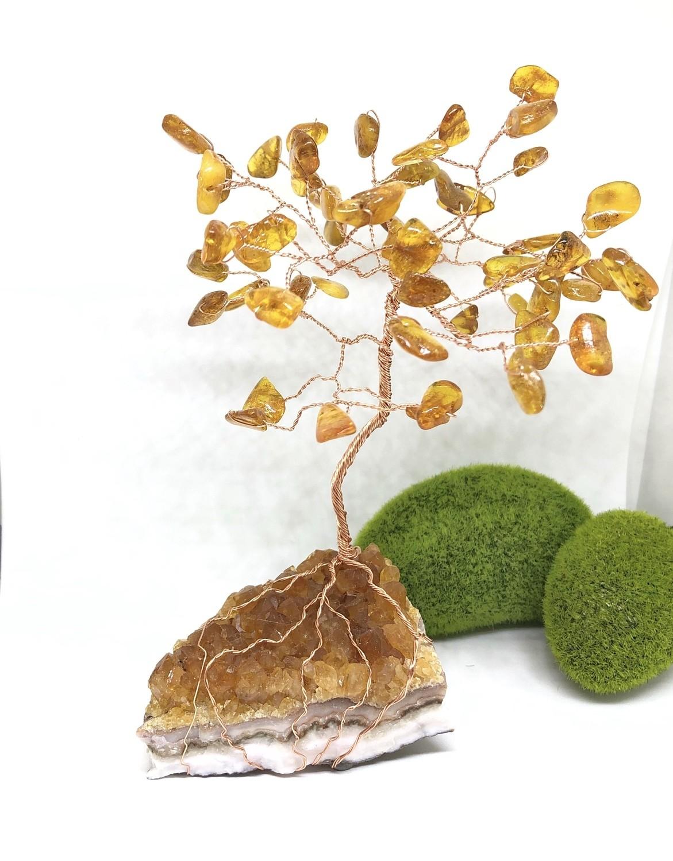 Baltic Amber Gem Tree
