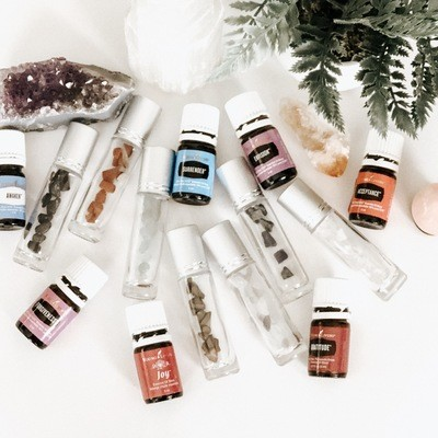 Essential Oils & Crystals