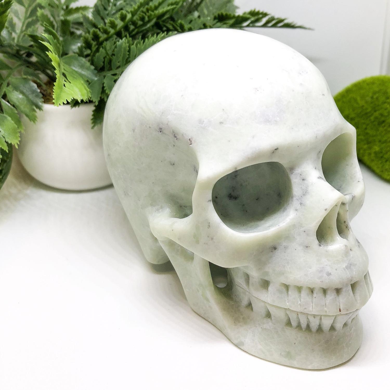 Xiuyan Jade Skull