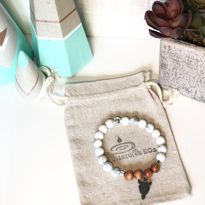 Howlite Aroma Bracelets