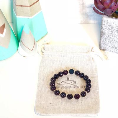 Garnet Aroma Bracelet