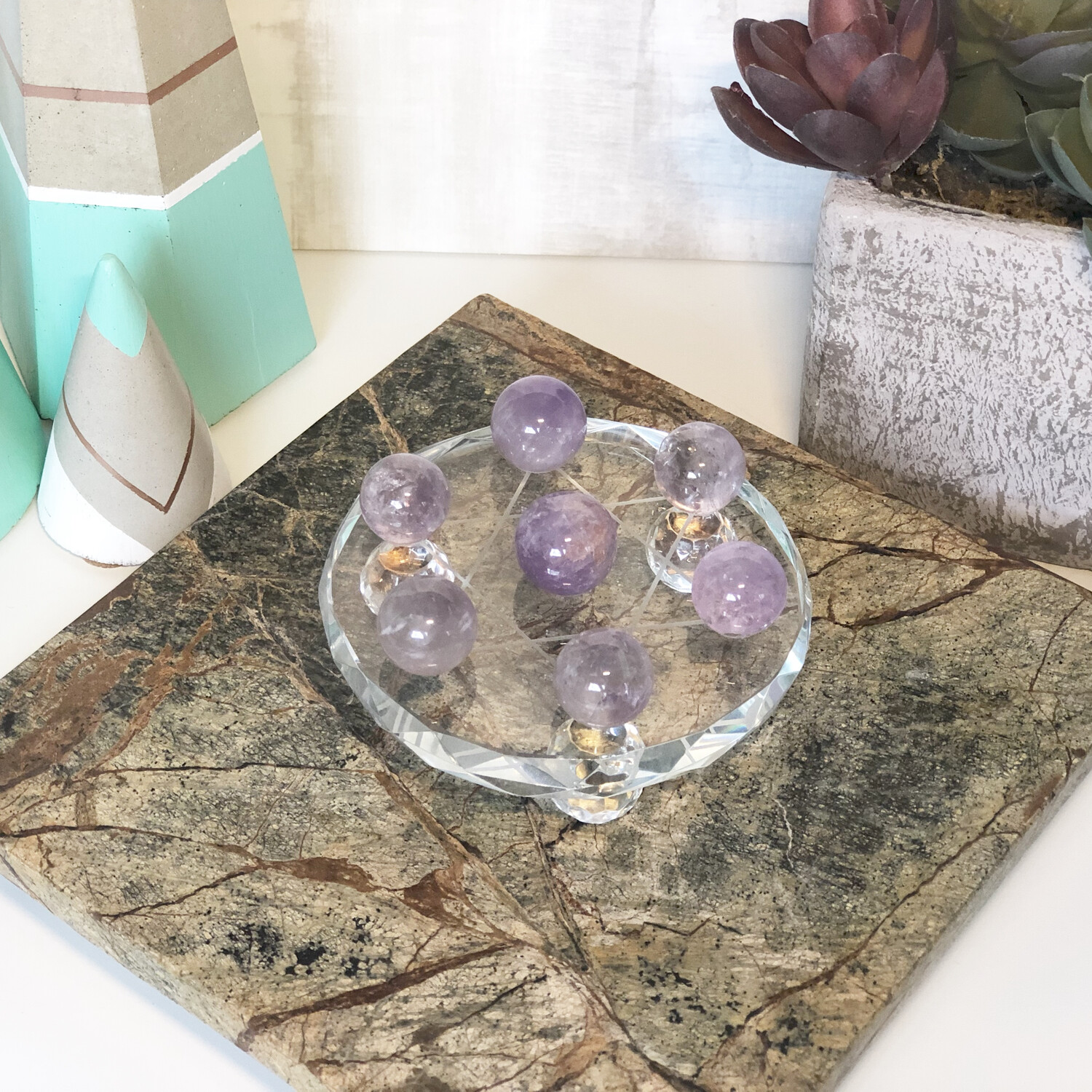 Fluorite Crystal Grid Set