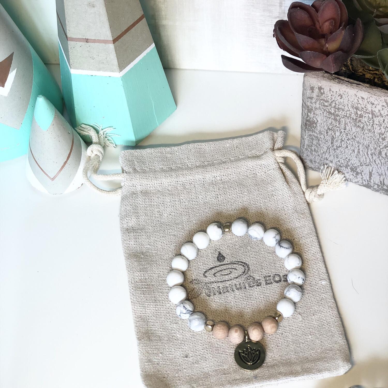Howlite Aroma Bracelet