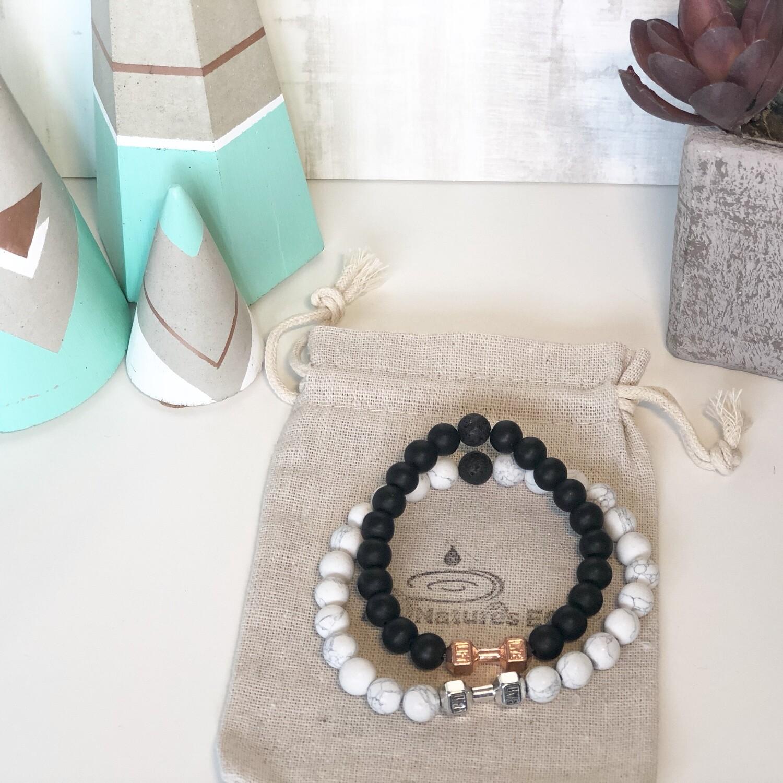Barbell Aroma Bracelet