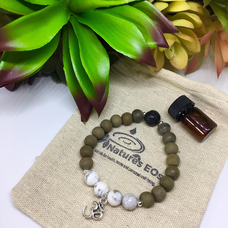 "Yoga ""Om"" Aroma Bracelets"