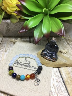 Chakra with Moonstone Aroma Bracelet