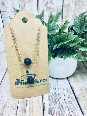 Double Chain Aroma Necklace