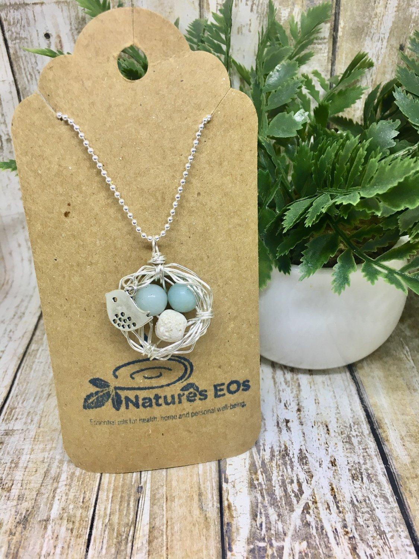 Bird Nest Aroma Necklace