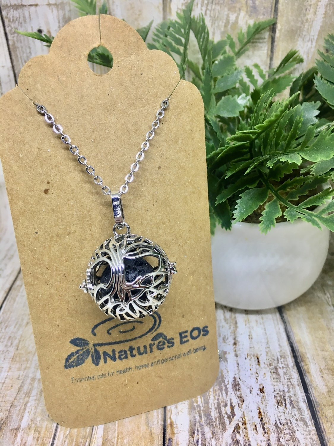 Family Tree Diffuser Necklace