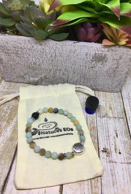 Amazonite Aroma Bracelet