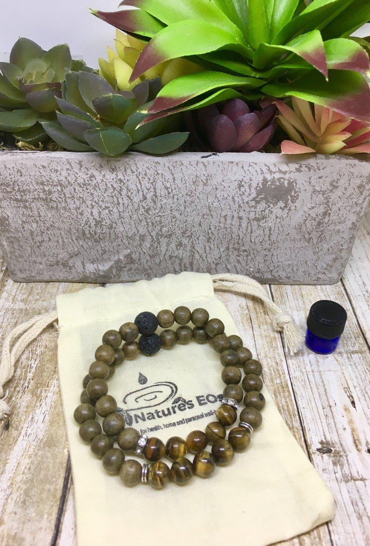 Couples Aroma Bracelet Set
