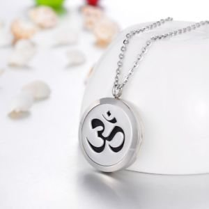 """Om"" Sign Aroma Locket Necklace"
