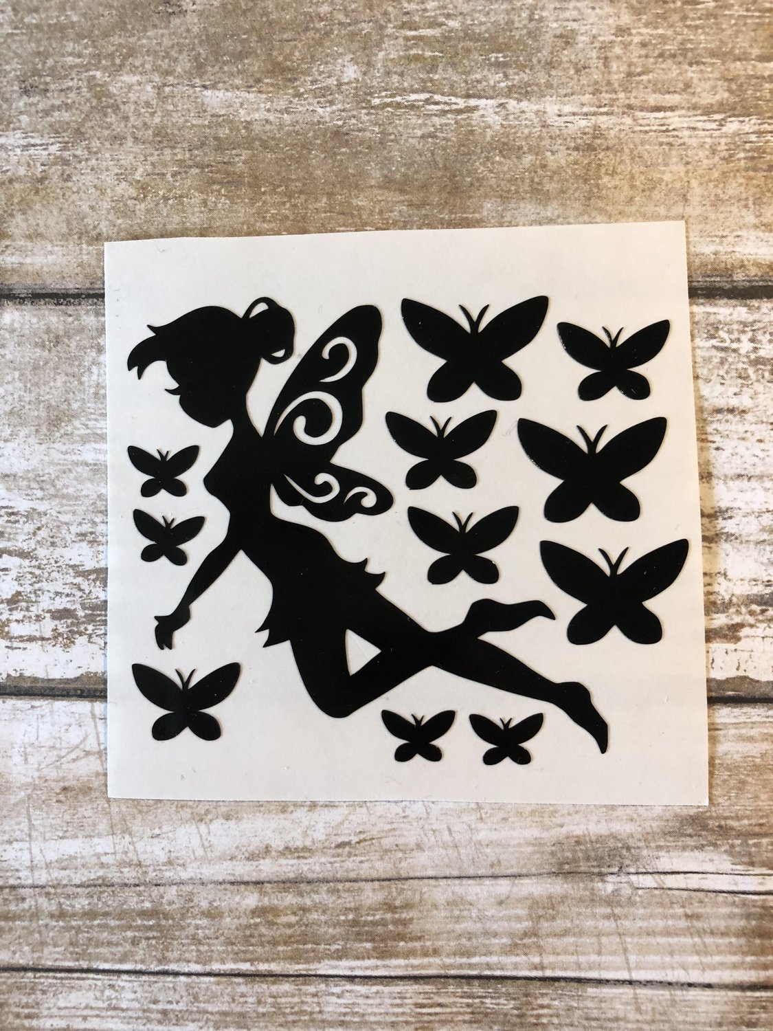 Fairy Vinyl Decal