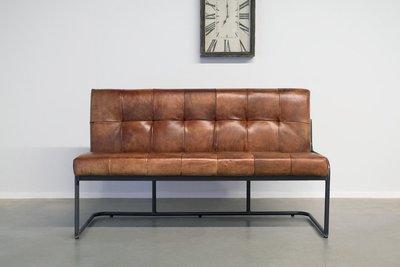 Surprising Industrial Dining Bench Olli Industrial Round Ibusinesslaw Wood Chair Design Ideas Ibusinesslaworg