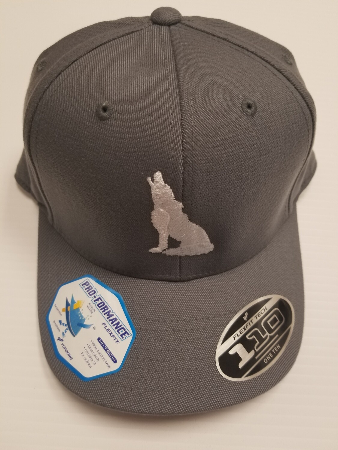 Grey Adjustable Coyote Hat
