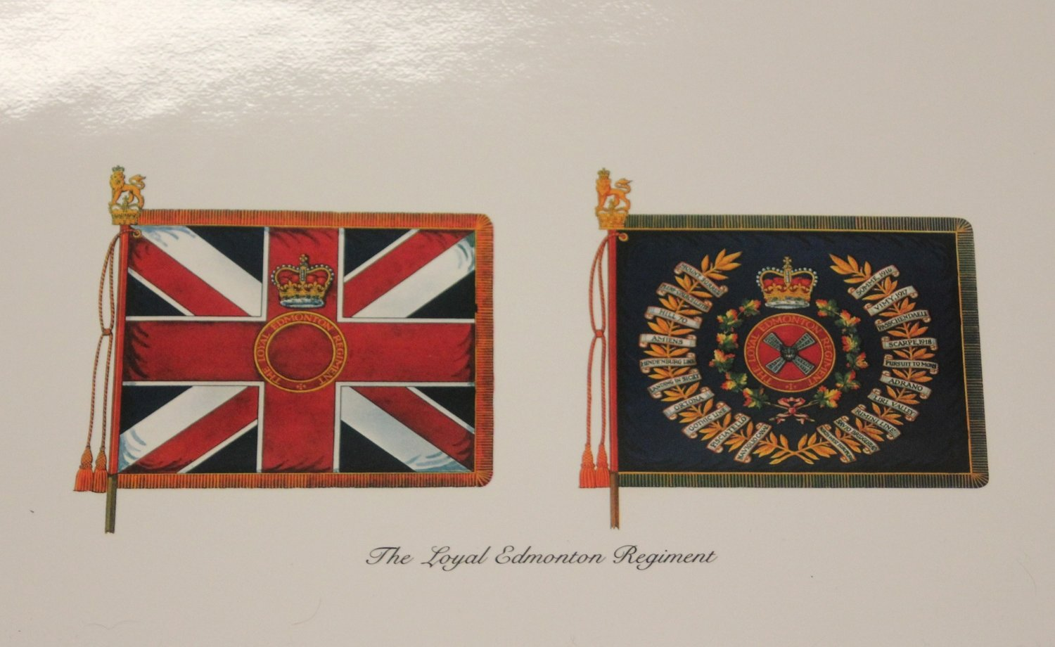 Print - Regimental Colours (Paper)
