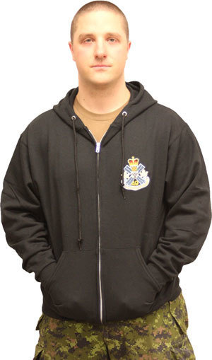 Small - Black Sweat Suit - Hooded Top