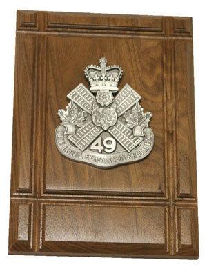 Plaque - Regimental Crest