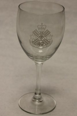 Wine Glass - Regimental