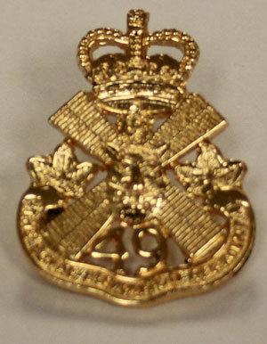 Brass Lapel Pin - Regimental