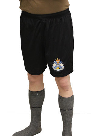 2XL - Black Running Shorts