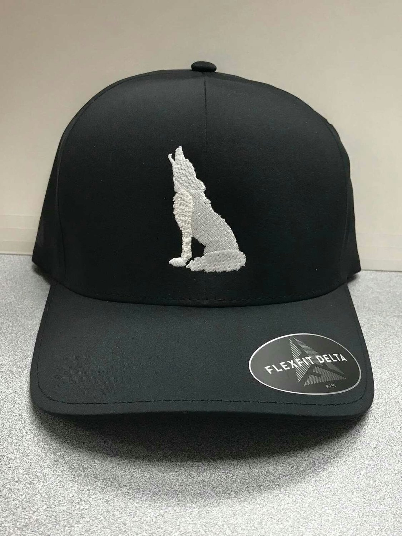 Black Coyote Hat (L/XL)