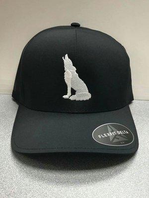 Black Coyote Hat (S/M)