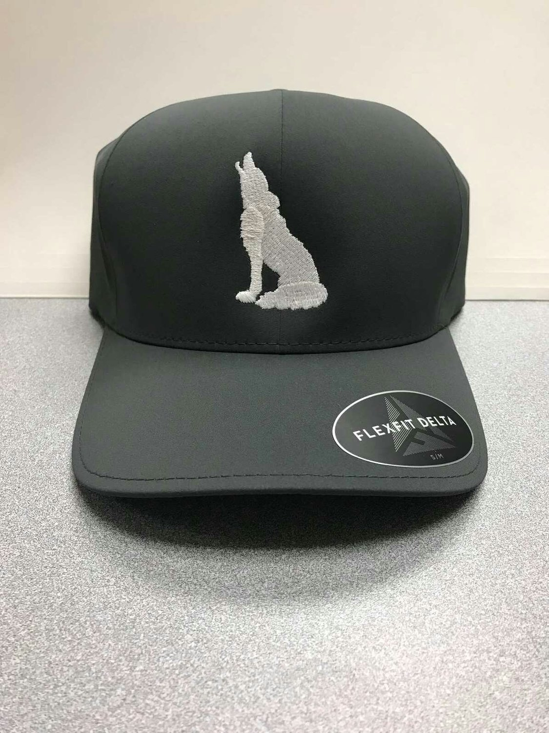 Dark Grey Coyote Hat (L/XL)