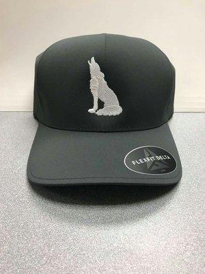 Dark Grey Coyote Hat (L/XL)