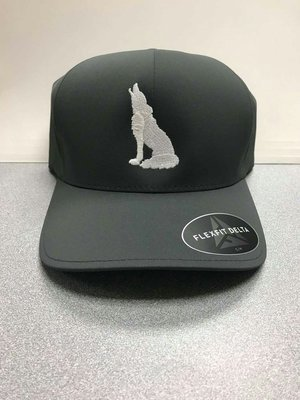 Dark Grey Coyote Hat (S/M)