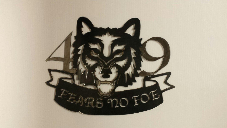 """Fears No Foe"" (42 Metalworks)"