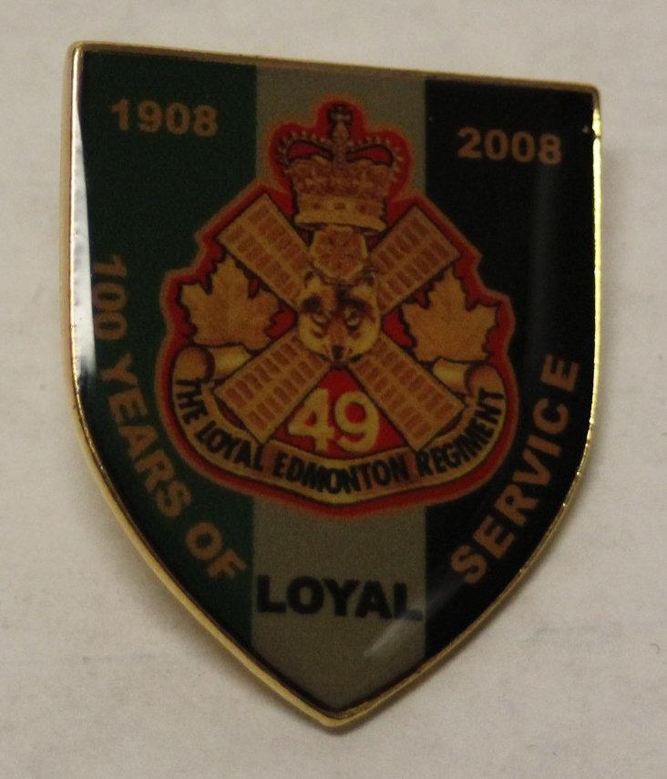 100th Anniversary Pin