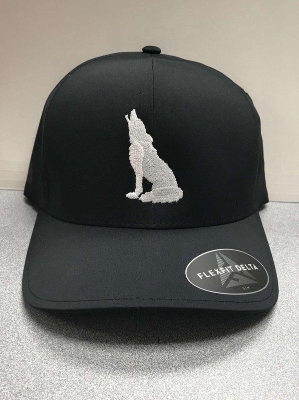 Black Adjustable Coyote Hat