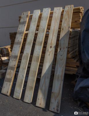ecopal, valorisation du bois de palettes à la réunion. vente de