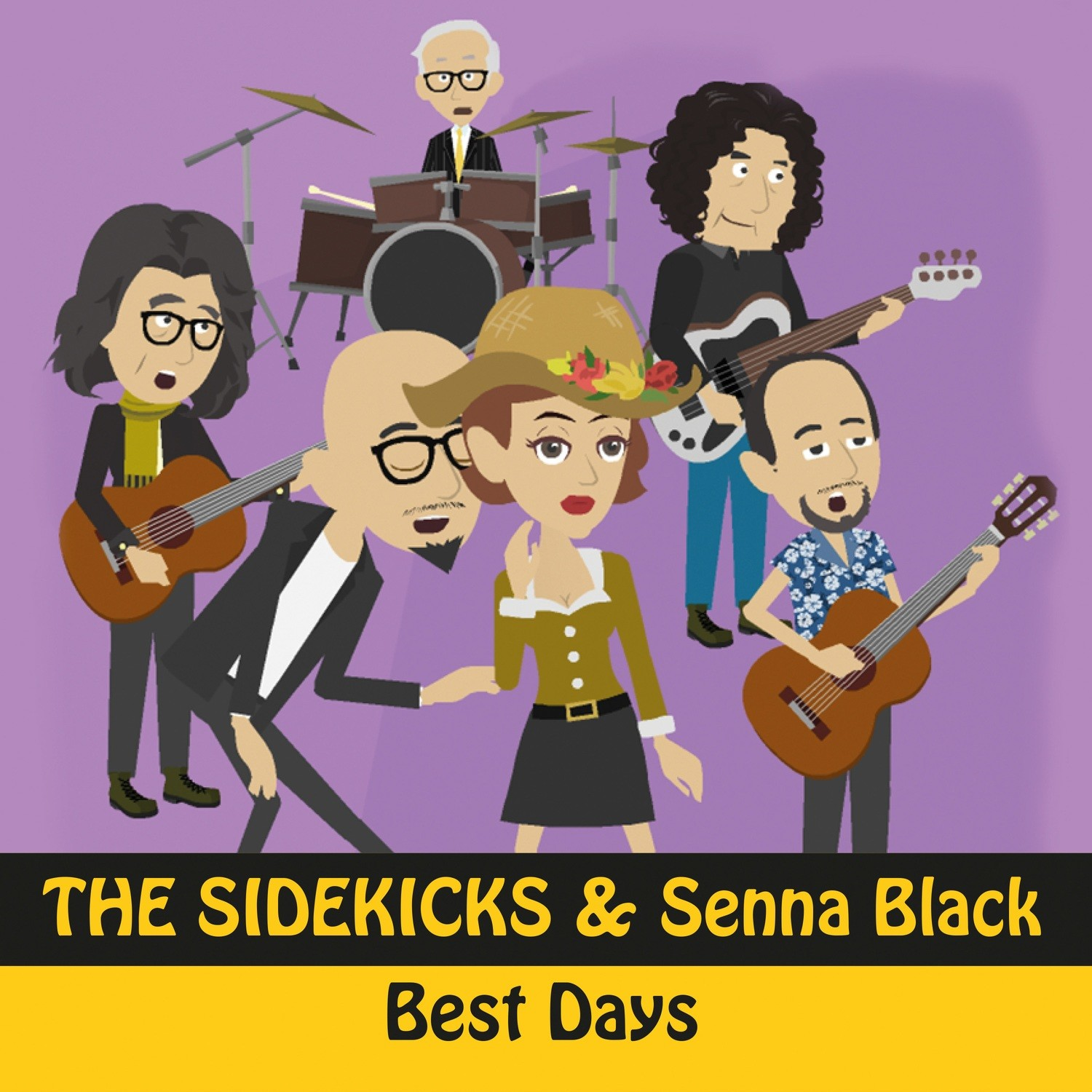 Single Best Days Duet Senna Black (2018)