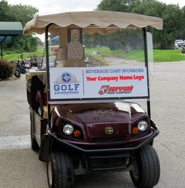 2020 Golf Open Beverage Cart Sponsorship (Limit Two Sponsors)