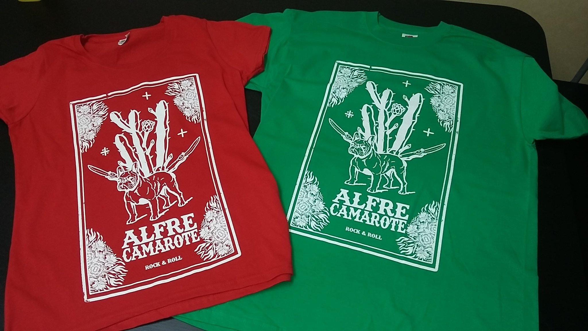Camiseta Cactus Alfre Camarote