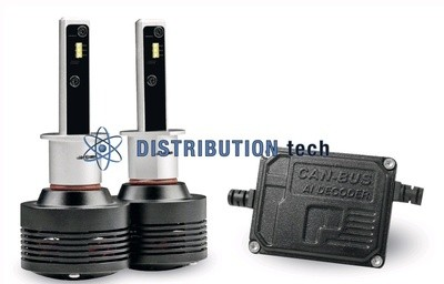 Kit conversione  fari H1 CAN BUS a led Phonocar