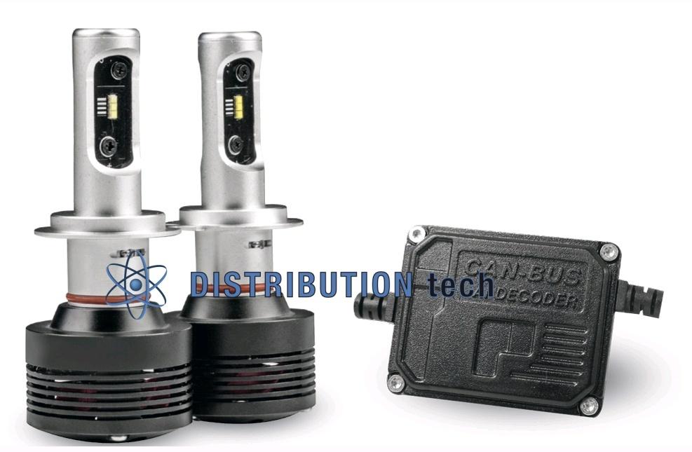 Kit conversione  fari H4 CAN BUS a led Phonocar PH07402