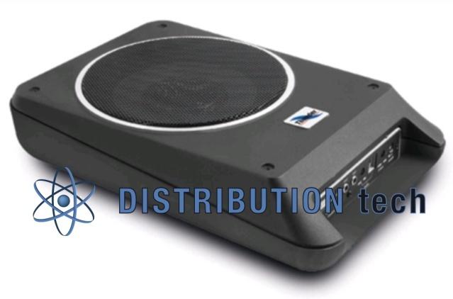 Subwoofer amplificato ultra piatto 160 W Phonocar PH02911