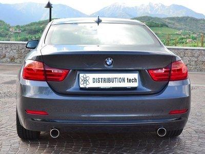 Terminale scarico posteriore sdoppiato BMW 320 D F30>F35 berlina omologazione CEE