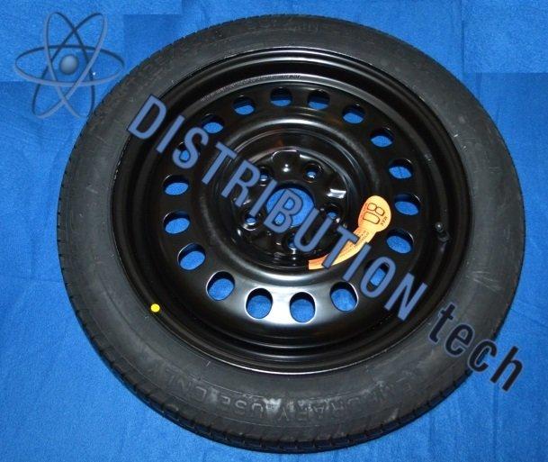 Ruotino di scorta Mercedes Cla dal 2013 /> kit ruota  crick-chiave-sacca