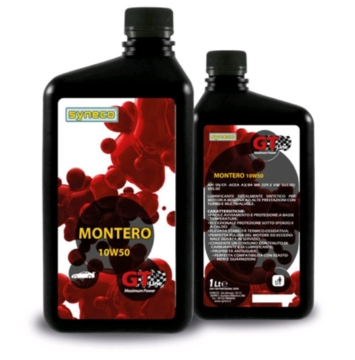 5 litri Syneco Montero 10W50 SYMMT155