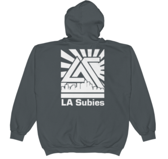 Zip up in grey LA Subies