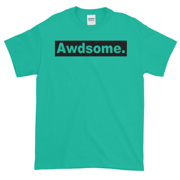 Short-Sleeve T-Shirt AWDsome Block