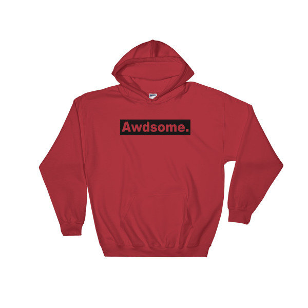 Hooded Sweatshirt AWDsome Block