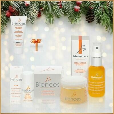 Set de Noël #3 | 3 produits abricot et 1 cadeau