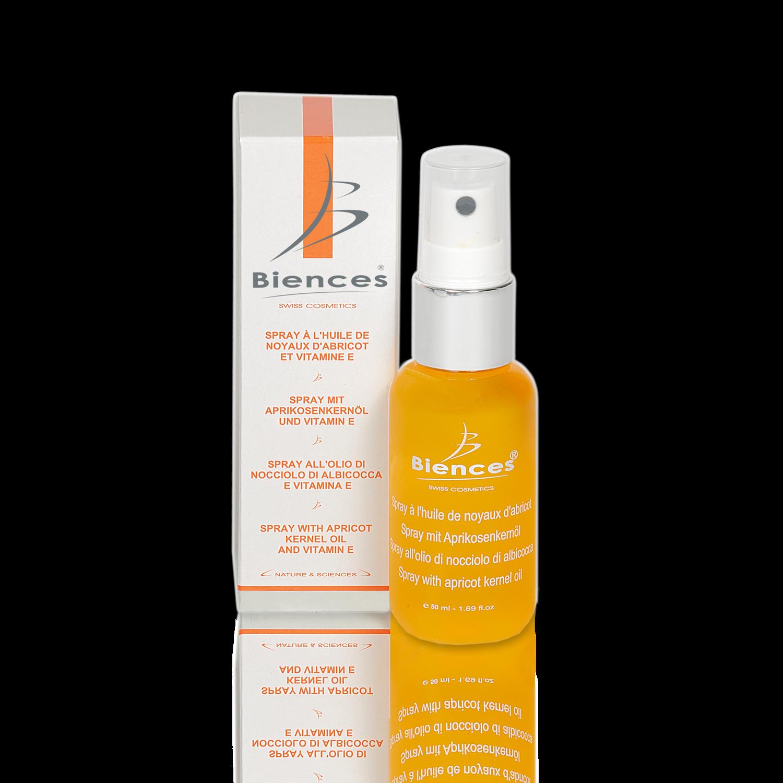 -30% | Spray à l'huile d'abricot et vitamine E  -  50 ML