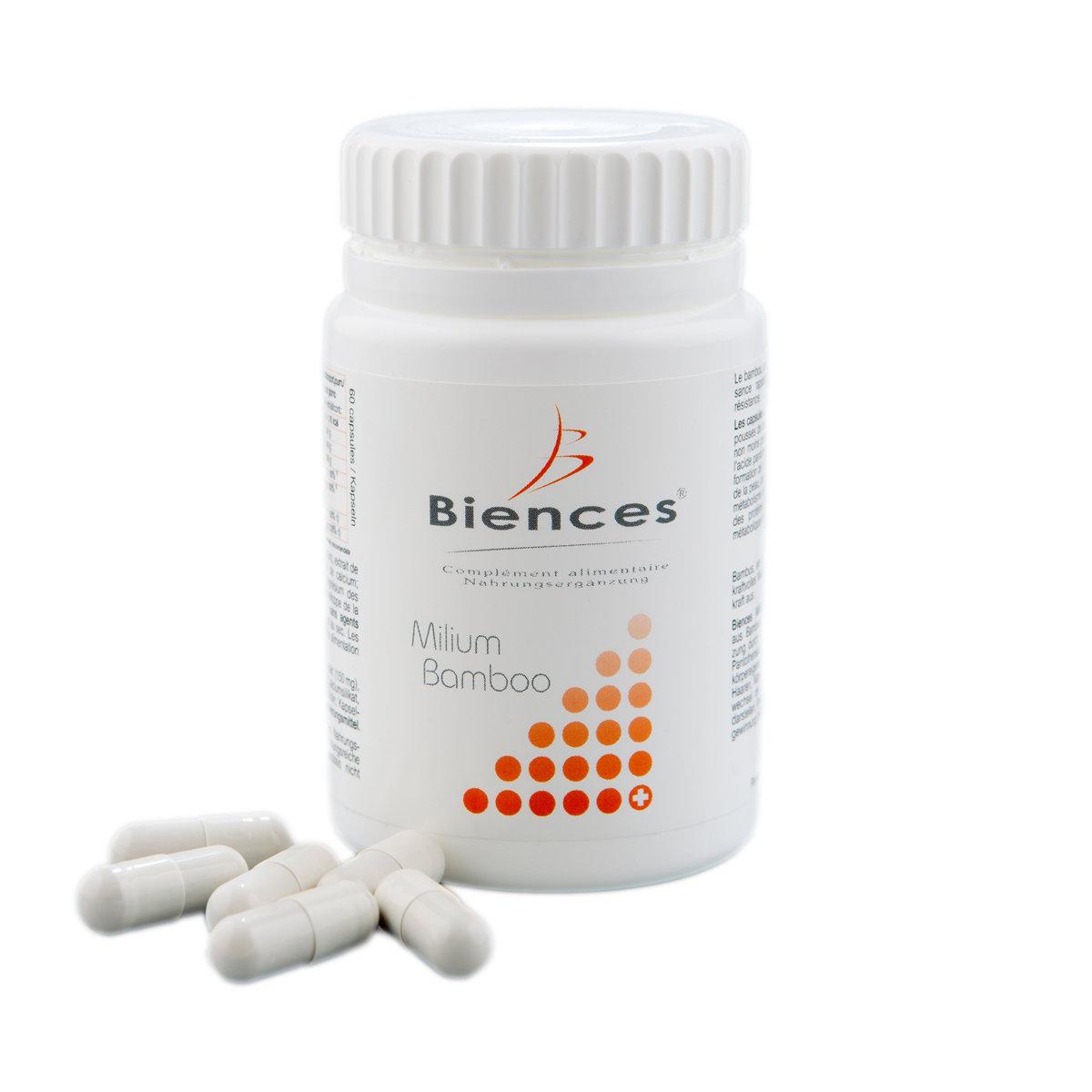 -14%   Milium Bamboo - 2 mois de cure - 60 capsules
